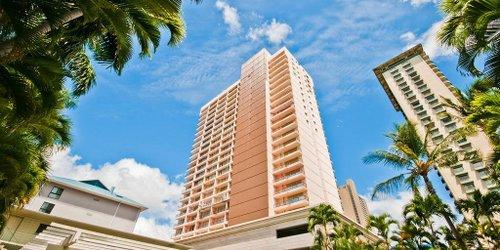 Забронировать Studio Vacation Rental at Royal Garden Waikiki Wyndham Vacation Resorts
