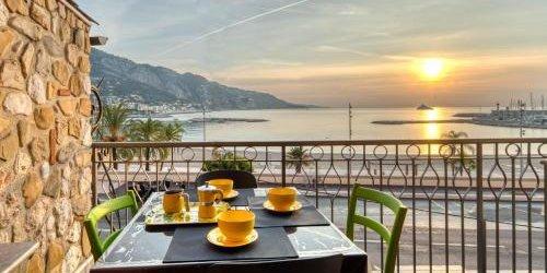 Забронировать Apartment les Sablettes panoramic view front sea