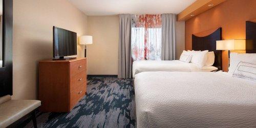 Забронировать Fairfield Inn & Suites Redding