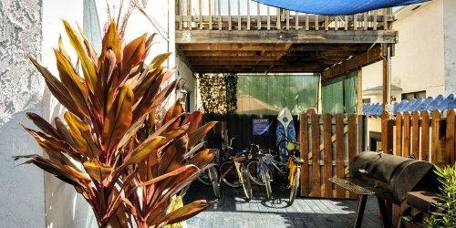 Забронировать Hollywood Beach Suites, Hostel and Hotel