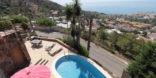 Забронировать Sitges Sea View Villa