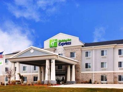 фото Holiday Inn Exp Le Roy Bloomington Area 1207996411
