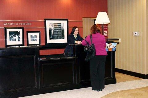 фото Hampton Inn & Suites Roseville 487656677