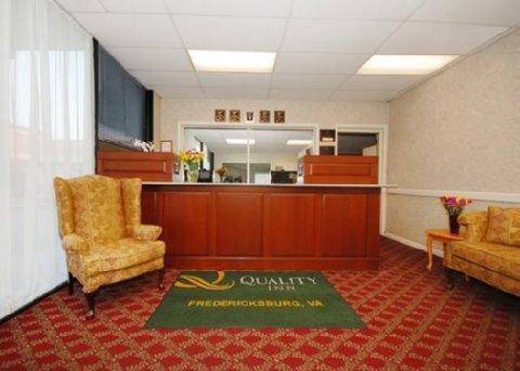 фото Quality Inn Fredericksburg 607637414