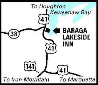 фото Baraga Lakeside Inn 686503757