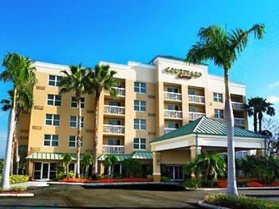 фото Marriott Courtyard Miami Aventura Mall 887404579